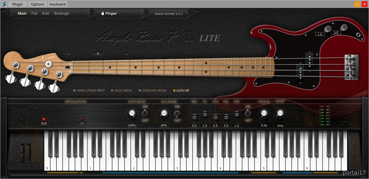 Ample Bass P Lite II
